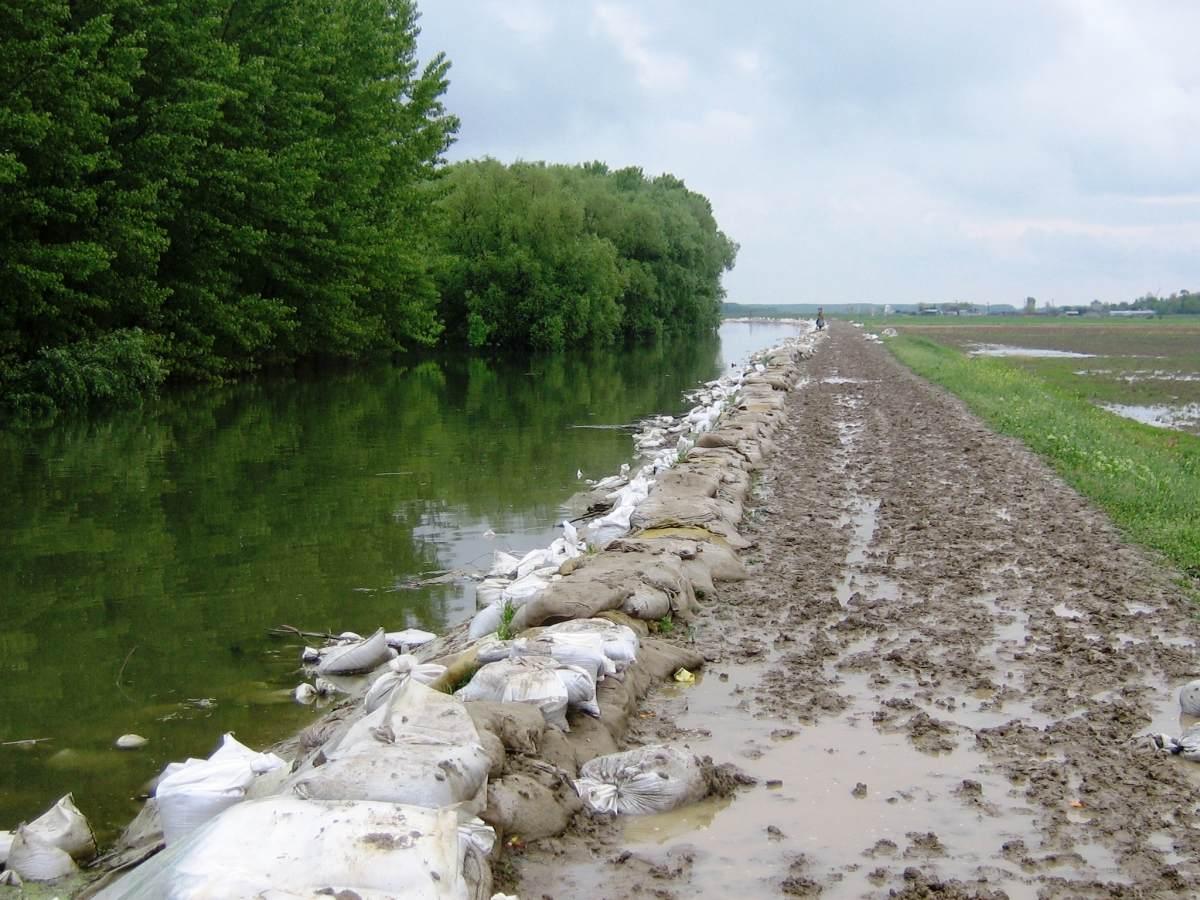 Inundații în Brăila! Dunărea a depășit cota de inundație. Ce măsuri sunt luate