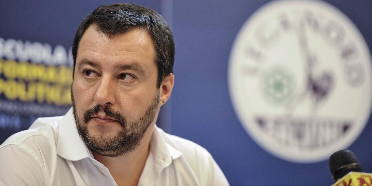 """Matteo Salvini, care vrea să devină premierul Italiei: Moneda euro este o """"eroare"""""""
