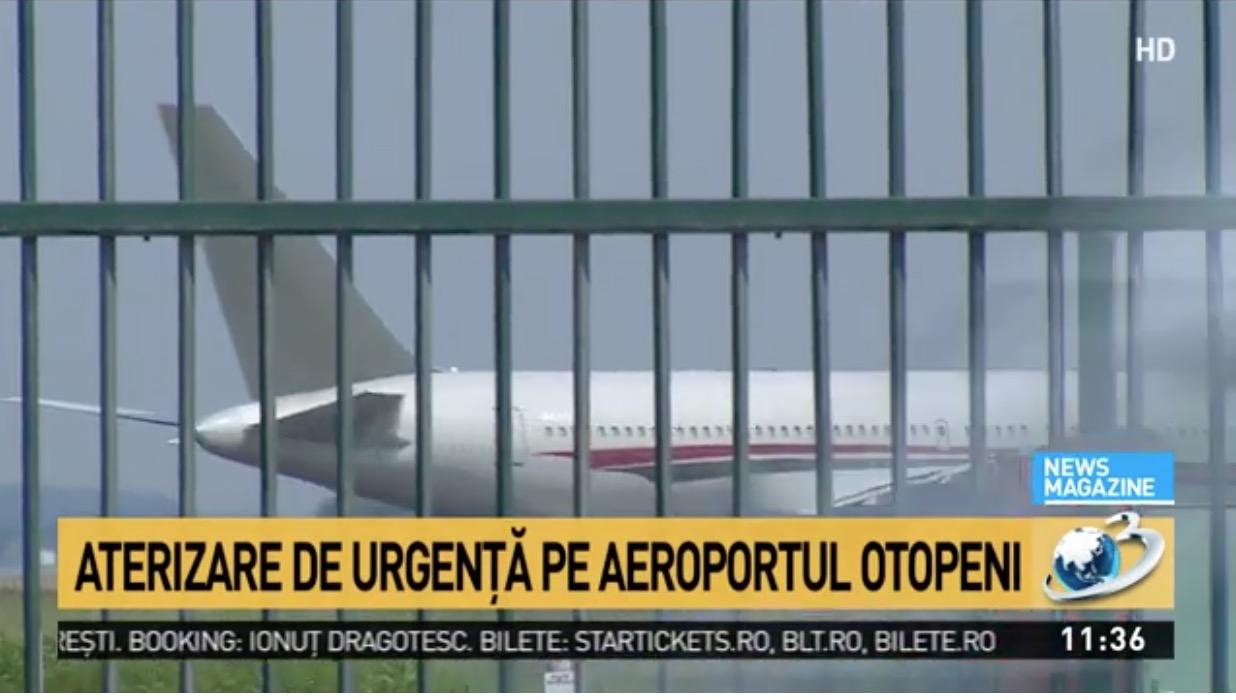 Aterizare de urgență pe Otopeni: Cursa București - Tel Aviv operată de Blue AIR s-a întors pe OTP