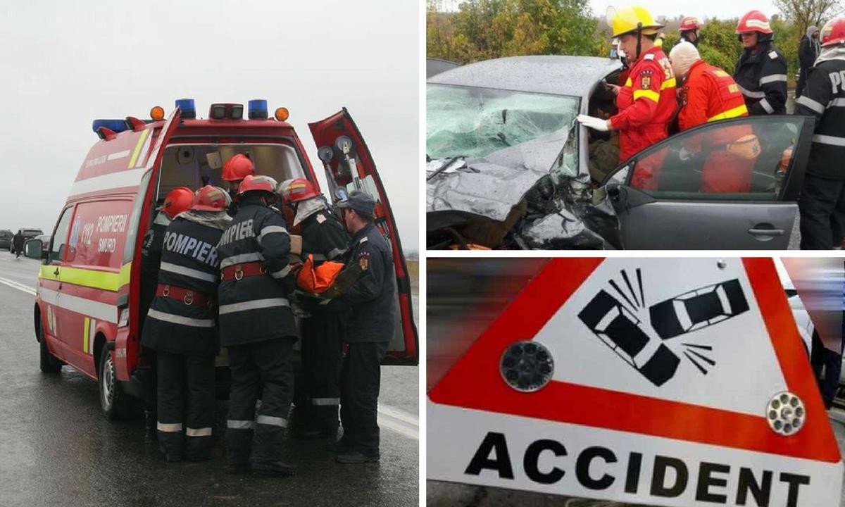 Teleorman: Accident la Bujoreni. Planul roșu de intervenție a fost activat