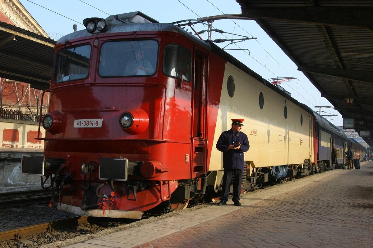 Alertă falsă cu bombă într-un tren. Un bărbat a amenințat că aruncă garnitura în aer