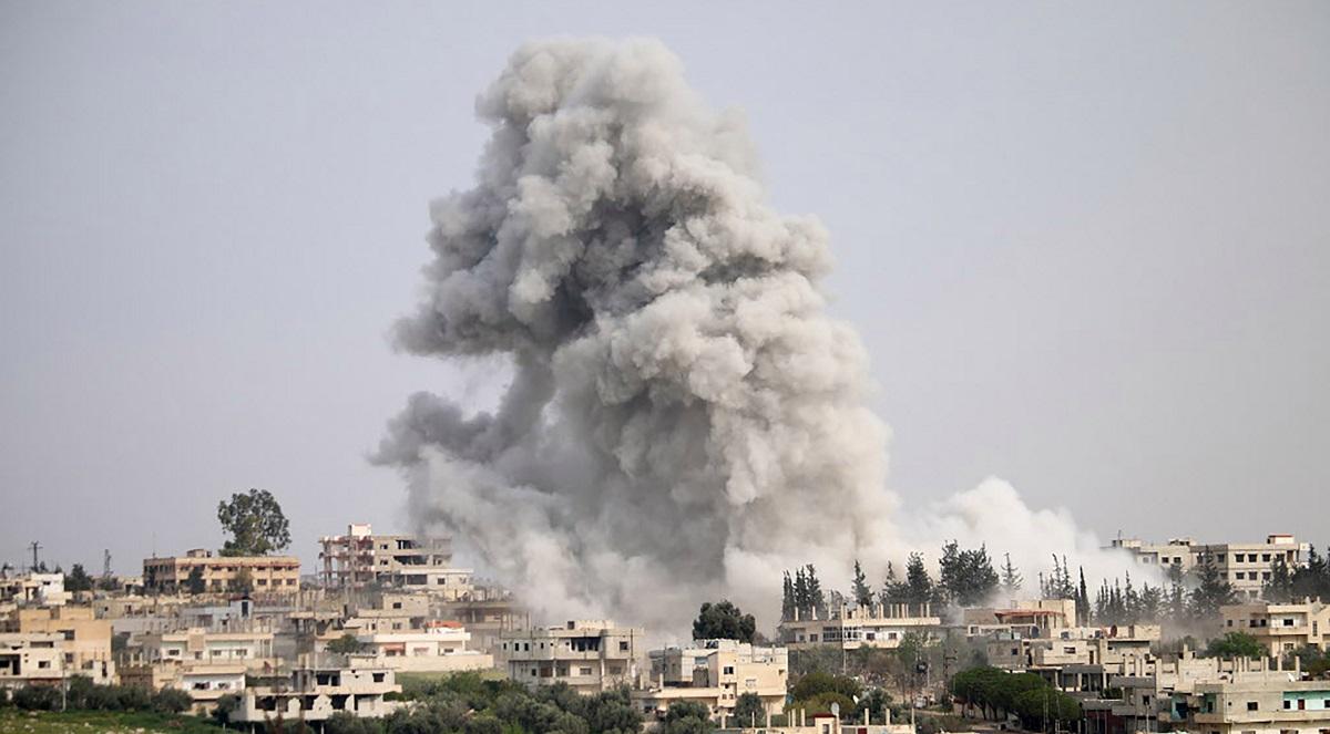 Atac în Siria: SUA, Franța și Marea Britanie au bombardat baze siriene. Cum a reacționat Rusia
