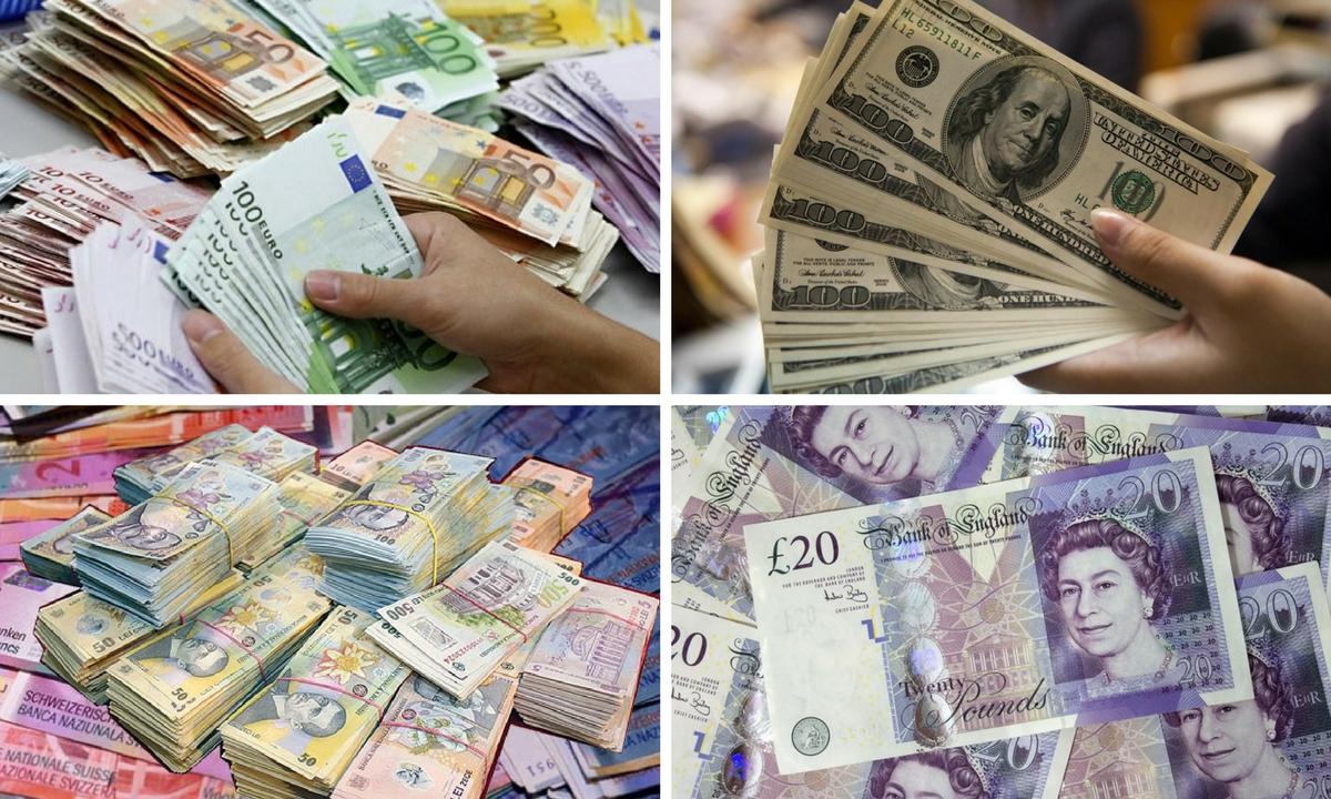 Curs valutar 19 aprilie 2018. Ce cotații anunțat BNR pentru euro, dolar și celelalte valute