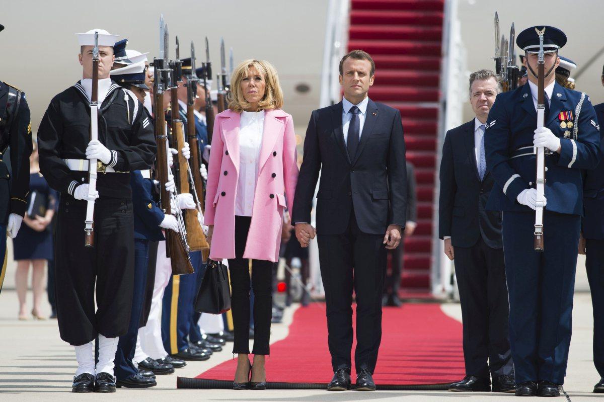 Vizită istorică! Emmanuel Macron și soția sa au ajuns în SUA. Vor discuta despre acordul SUA cu Iran