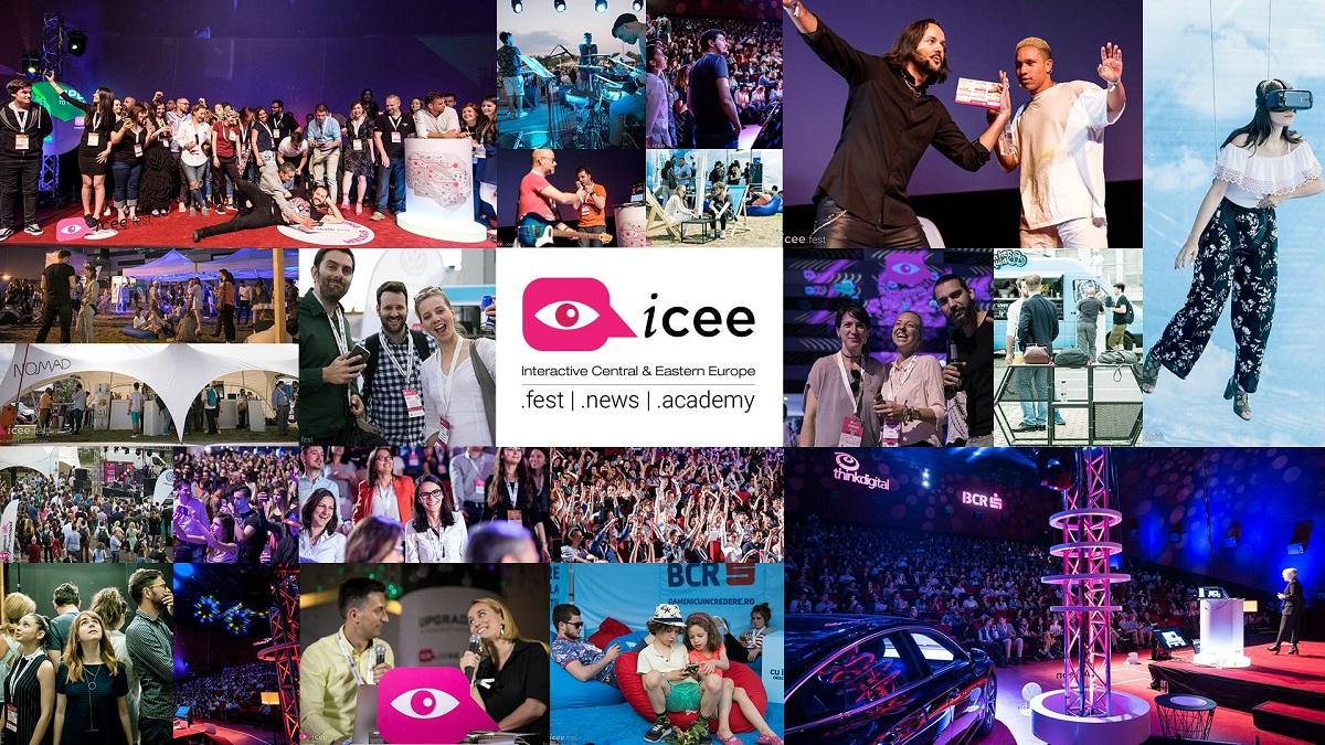 iCEE.fest 2018: Facebook, Google, Netflix, CNN, LinkedIn, printre participanții la această ediție a festivalului