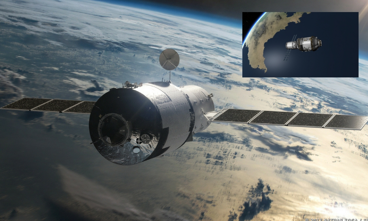 Tiangong s-a prăbușit pe Terra. Pe unde a intrat în atmosferă laboratorul spațial chinez