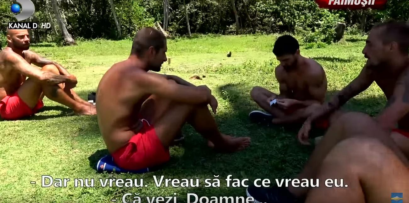 Vladimir Drăghia și Giani Kiriță și-au aruncat vorbe dure la Exatlon! Tensiune în tabăra Faimoșilor