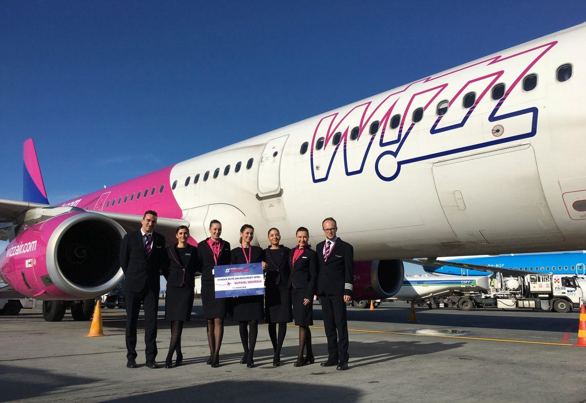 Wizz Air a anunțat azi că suspendă toare rutele dintre Spania și România