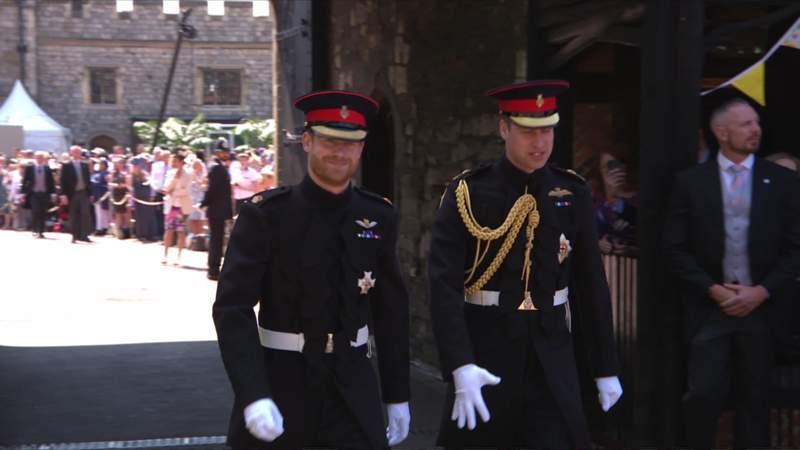 Nunta regală. Printul Harry a ajuns la Biserică