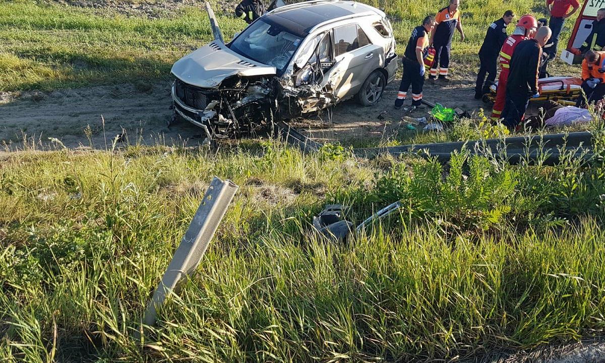 Accident pe DN1, în Brașov. Cine este victima care a decedat