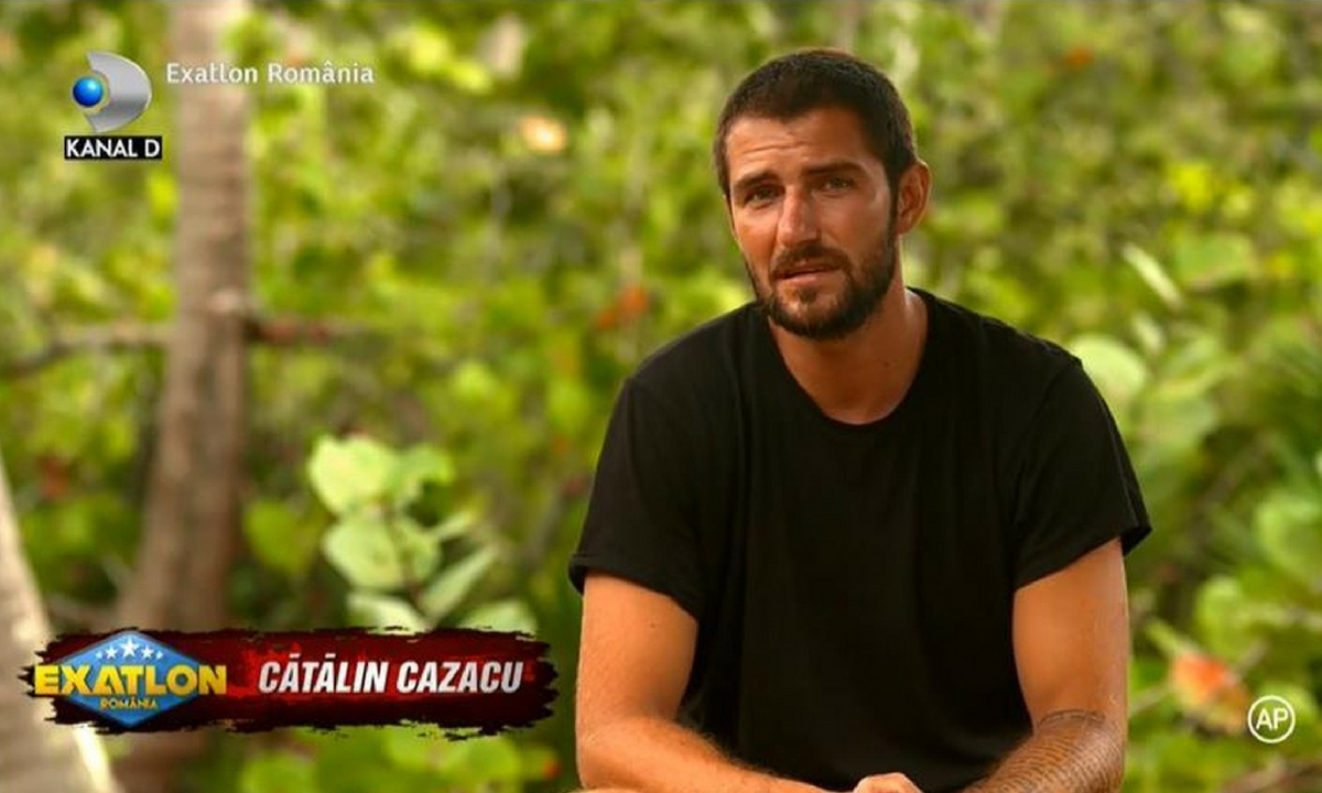 """Cătălin Cazacu vorbește despre eliminarea de la """"Exatlon"""""""