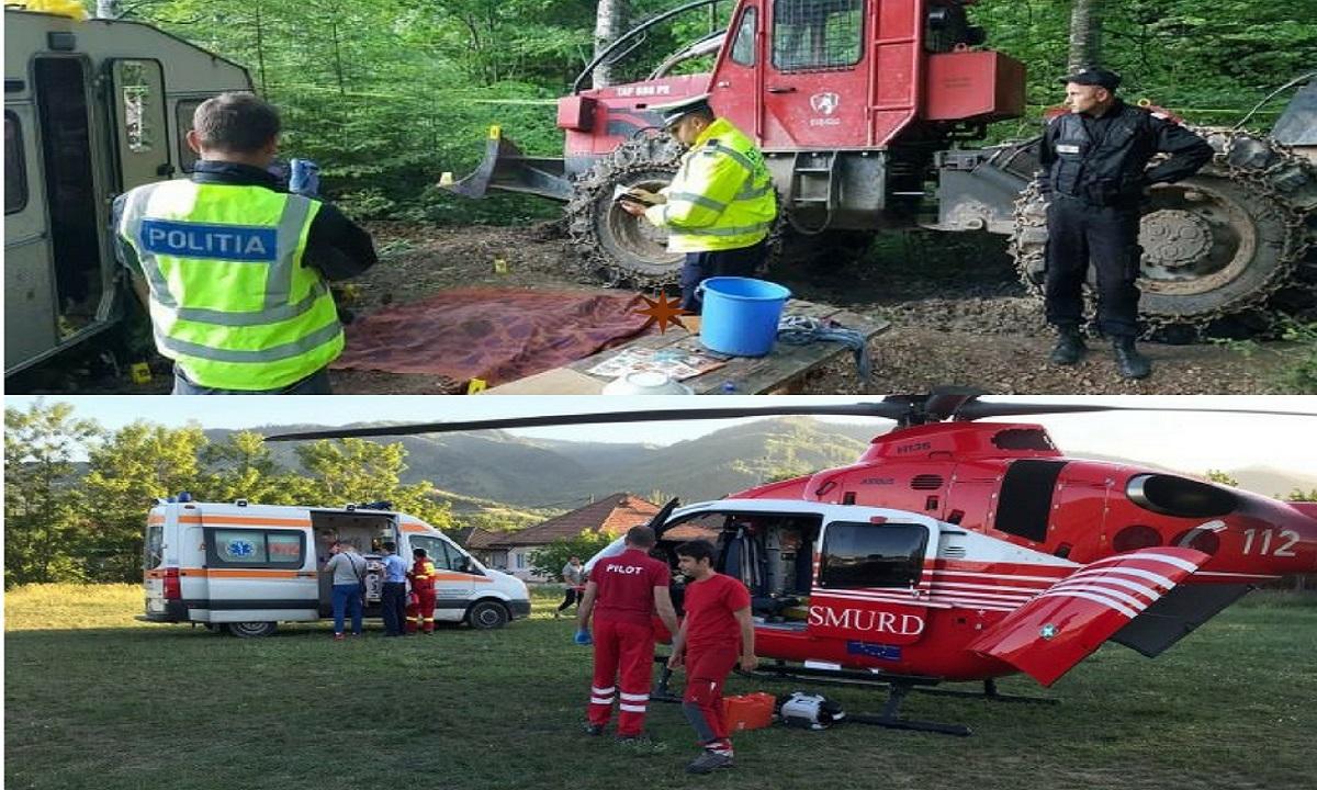 Un bărbat a murit după explozia unei bombe în Bacău