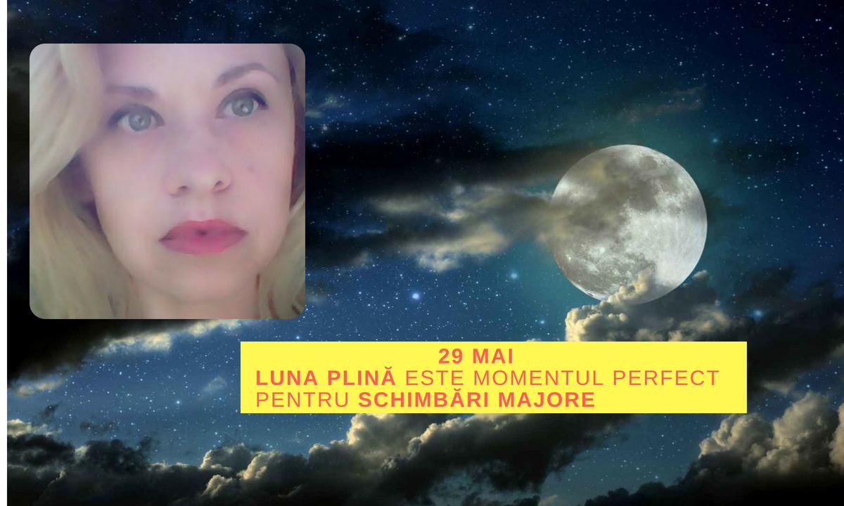 Horoscop Oana Hanganu: Luna plină este momentul perfect pentru schimbări majore!