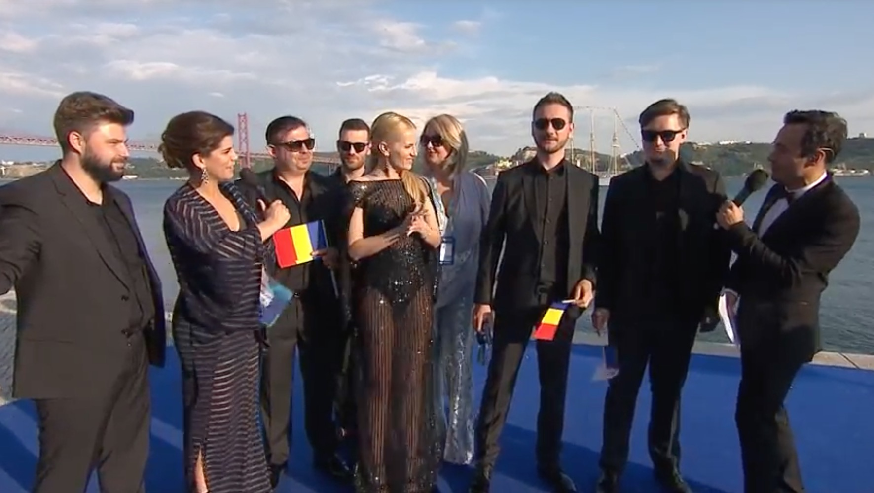 Eurovision 2018 - Ziua 1 - EXCLUSIV! Spania, Moldova, Norvegia mesaje speciale pentru România!
