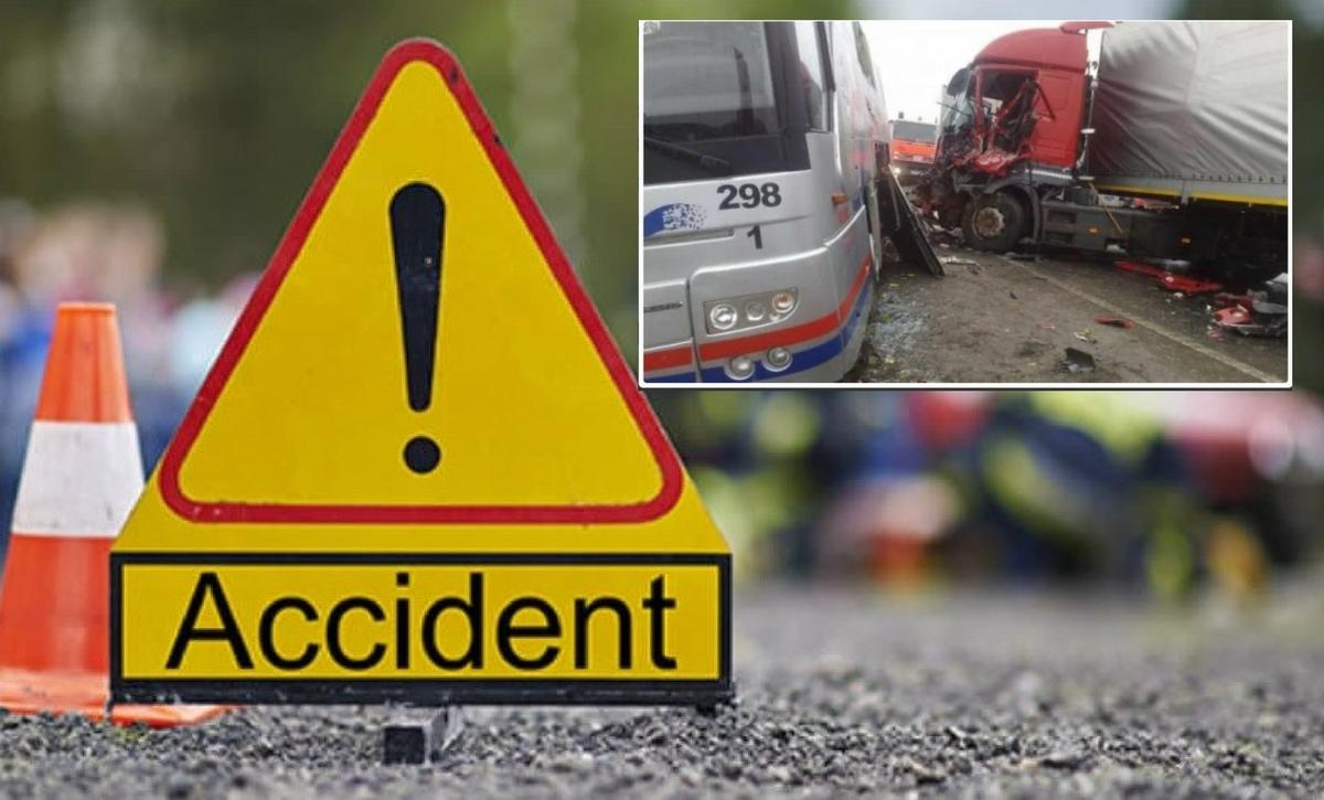Prahova: Accident în Loloiasca: Un TIR a lovit un autobuz. Mai multe victime