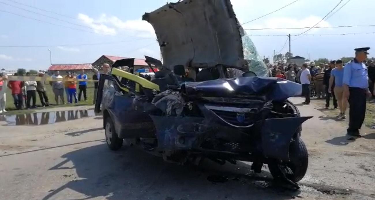 OLT: Accident în Redea - Trei oameni au murit