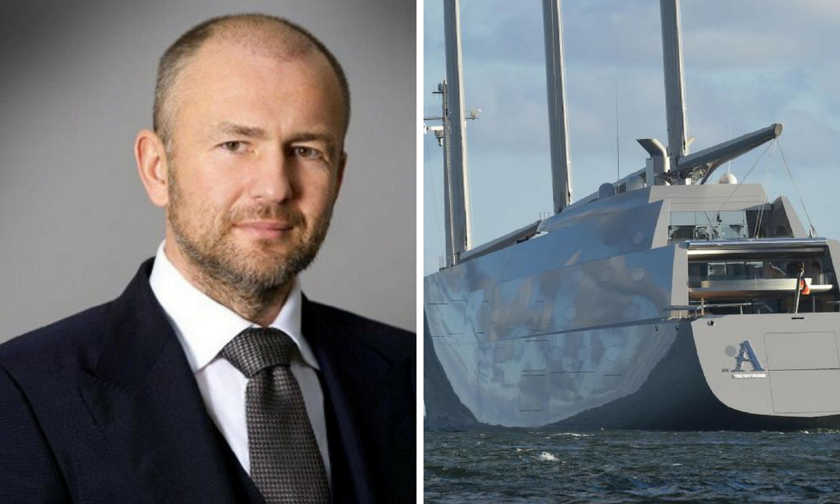 Cine este Andrey Melnichenko, miliardarul rus care a făcut senzație la Monaco cu iahtul său