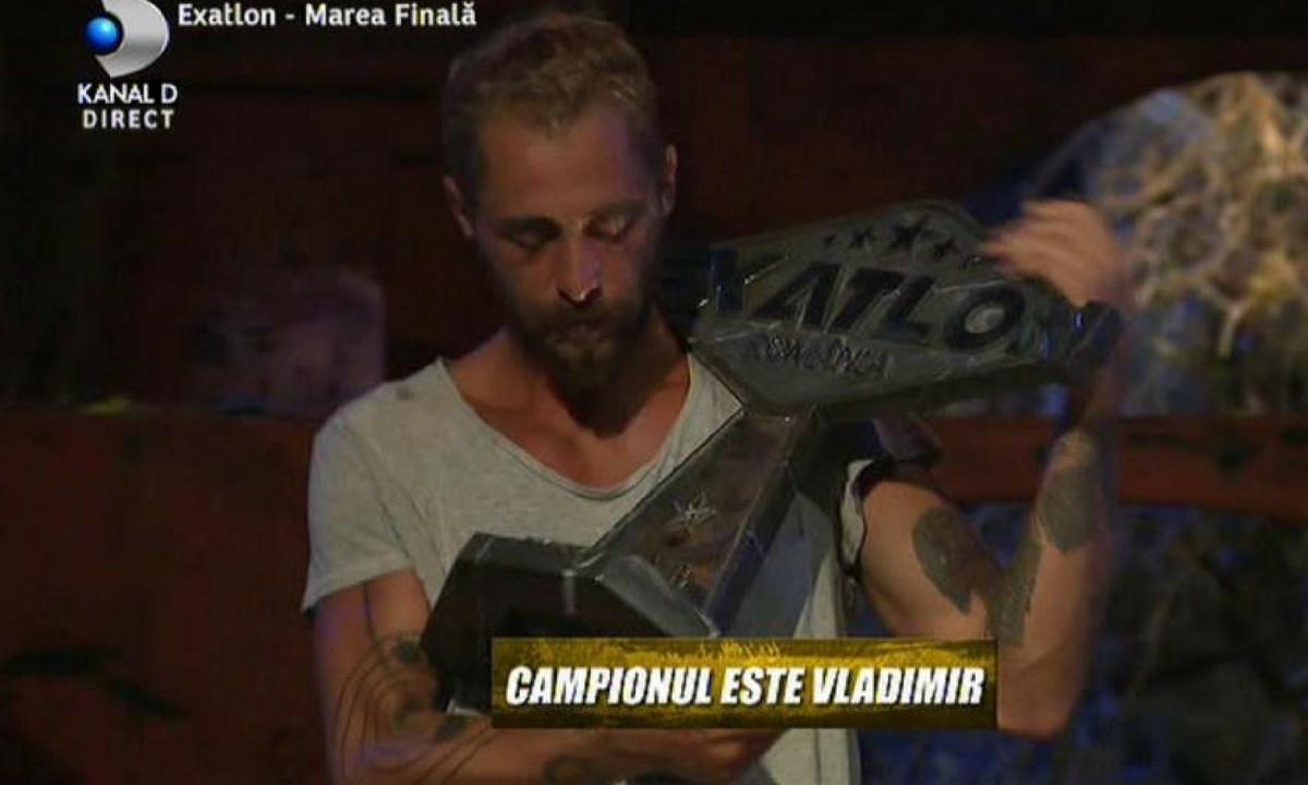 Vladimir Drăghia, câștigătorul Exatlon, primele cuvinte după ce a câștigat FINALA