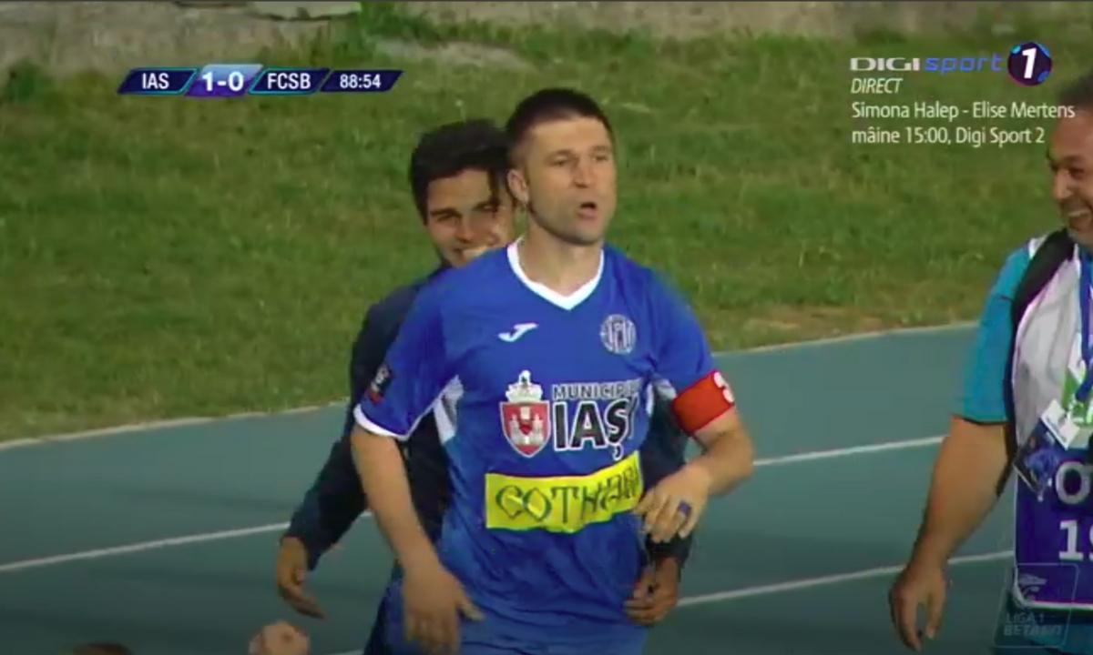 Poli Iaşi - FCSB scor final 1-0. Rezumat video