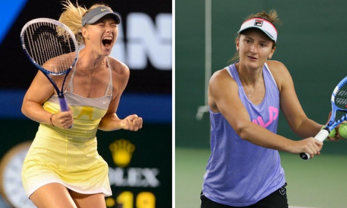Maria Șarapova - Irina Begu, scor final 7-5, 6-1 la turneul de la Madrid