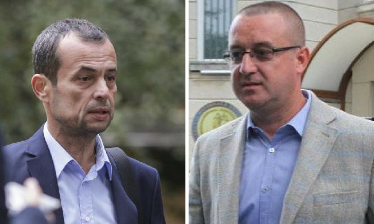 Mircea Negulescu și Sorin Blejnar, la Parchetul General