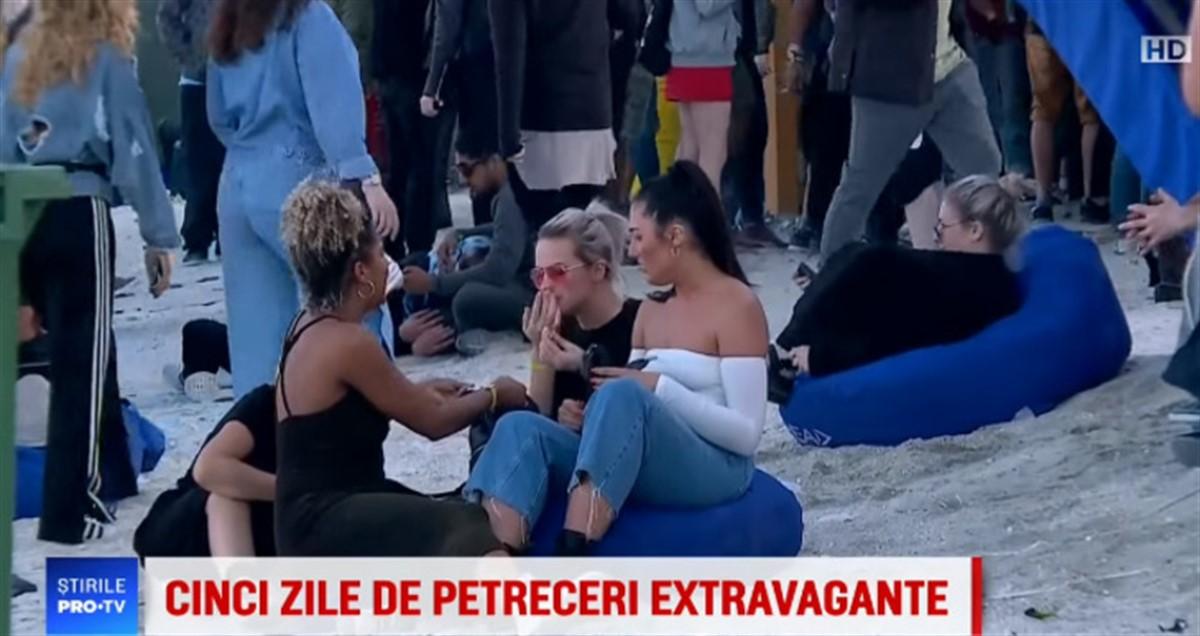 Ce s-a întâmplat cu tânăra care a fost filmată de PRO TV în timp ce se droga pe plaja din Mamaia
