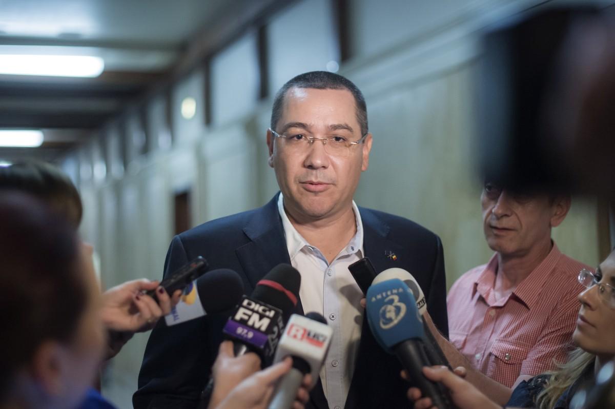 """Victor Ponta: """"Mutarea ambasadei de la Tel Aviv la Ierusalim şi vizita în Israel sunt chestiuni serioase, nu şpaga lui Dragnea"""""""