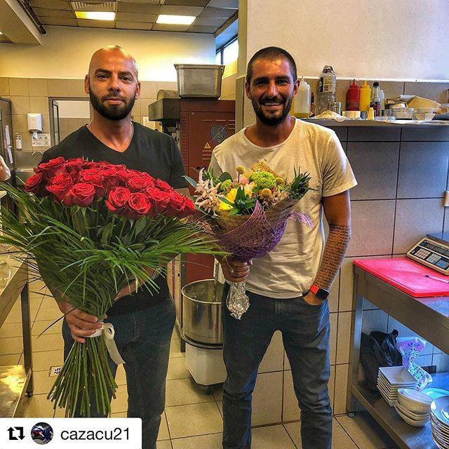 EXCLUSIV! Giani Kiriță și Cătălin Cazacu s-au ascuns în bucătăria unui restaurant