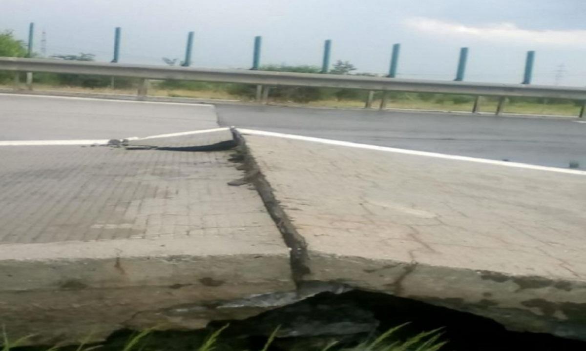 Noi probleme pe Autostrada Soarelui. Atenție, pericol de accident