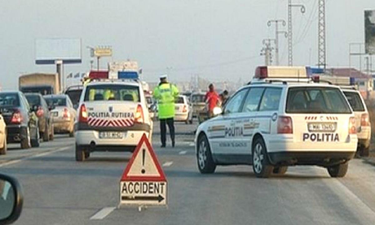 Accident pe DN1. Sunt mai multe victime printre care și un minor