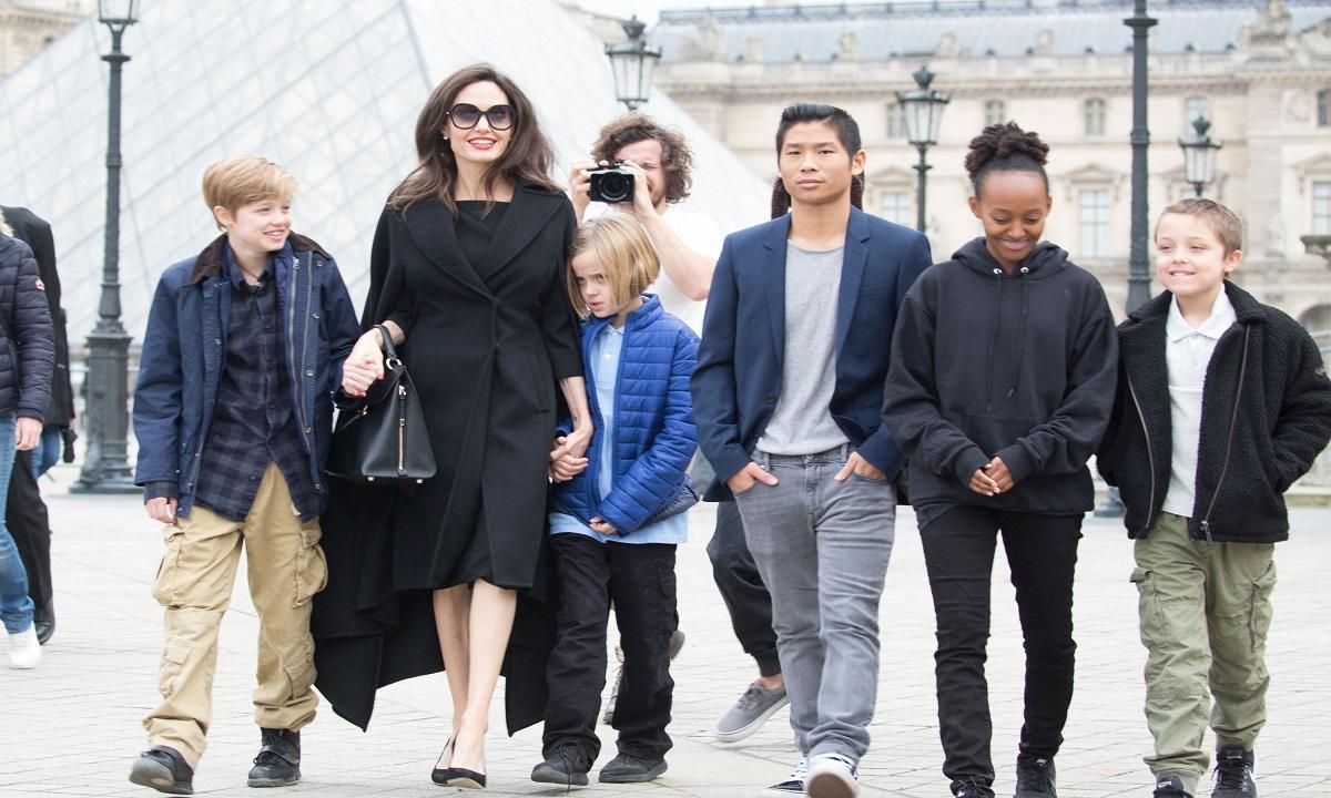 Angelina Jolie își poate pierde custodia copiilor!