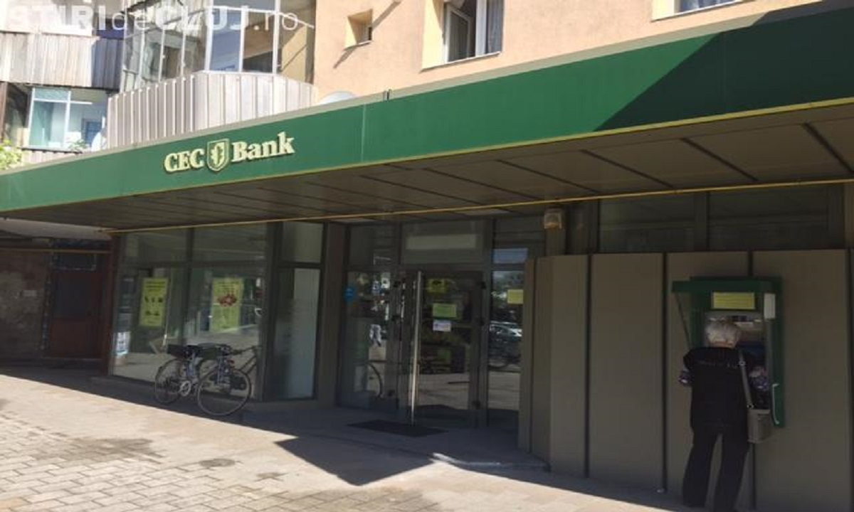 Jaf armat la o bancă din Cluj