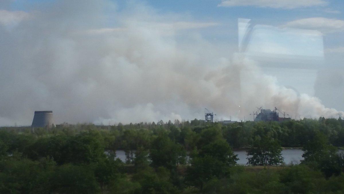 NEWS ALERT Incendiu de proporții la Cernobîl