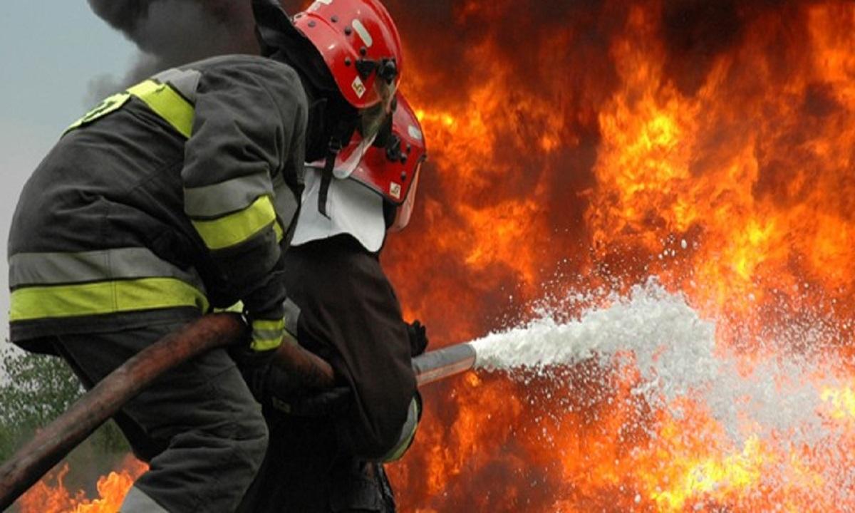 Incendiu la un club din nordul stațiunii Mamaia