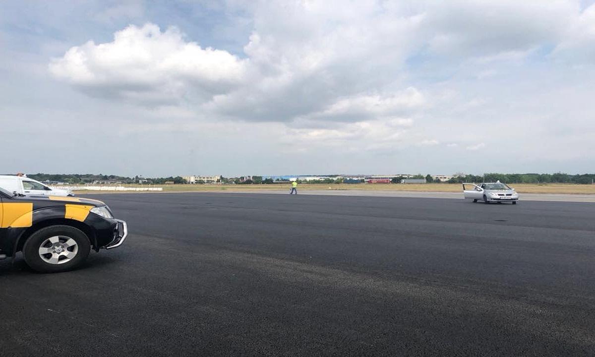 Lucrările de reparații la pista 2 a Aeroportului Otopeni au fost finalizate