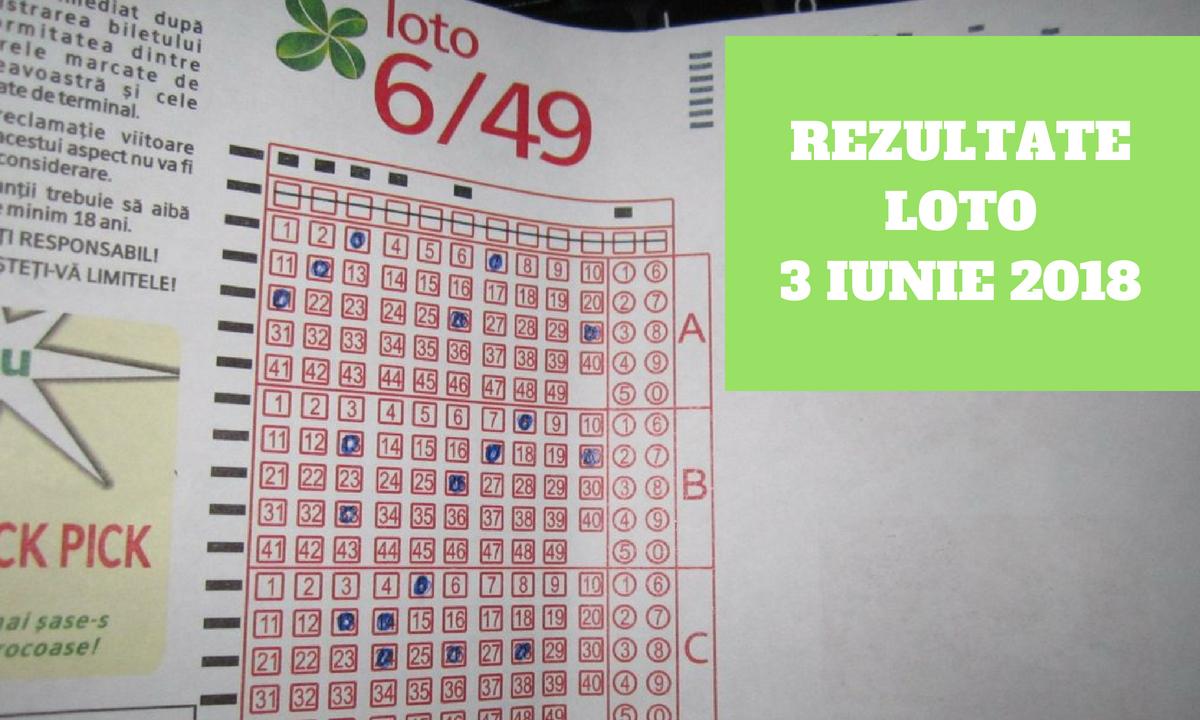 Rezultate Loto 3 iunie 2018 - Numerele extrase la Loto 6/49, Joker, Noroc, 5/40