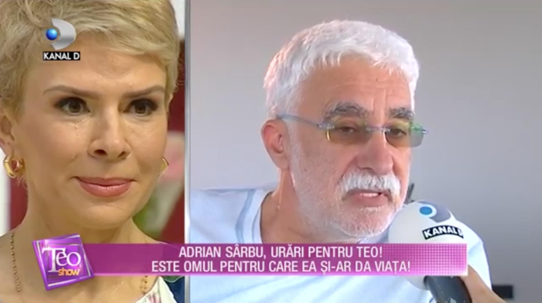 Adrian Sârbu i-a transmis lui TEO un mesaj special de ziua ei