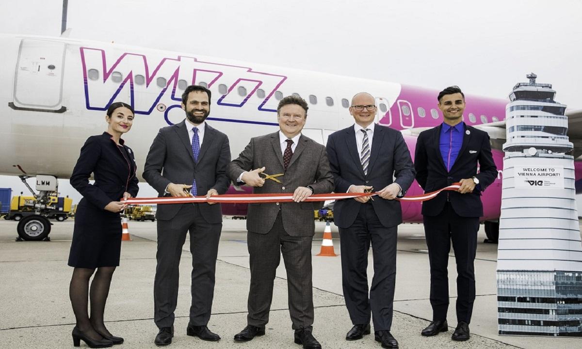 Bază nouă Wizz Air la Viena. 20% reducere la toate zborurile din și către Viena