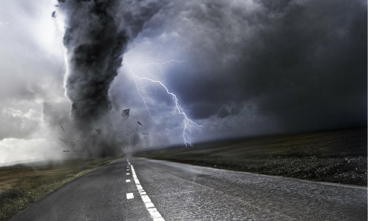 Cod portocaliu de furtuni în localităţi din Hunedoara şi Caraş Severin, în orele următoare