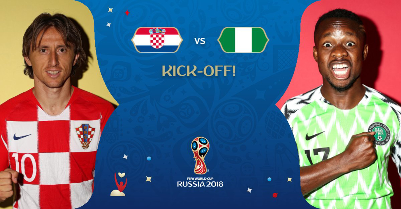 Croatia - Nigeria Scor 0-0 LIVE Video Campionatul Mondial 2018