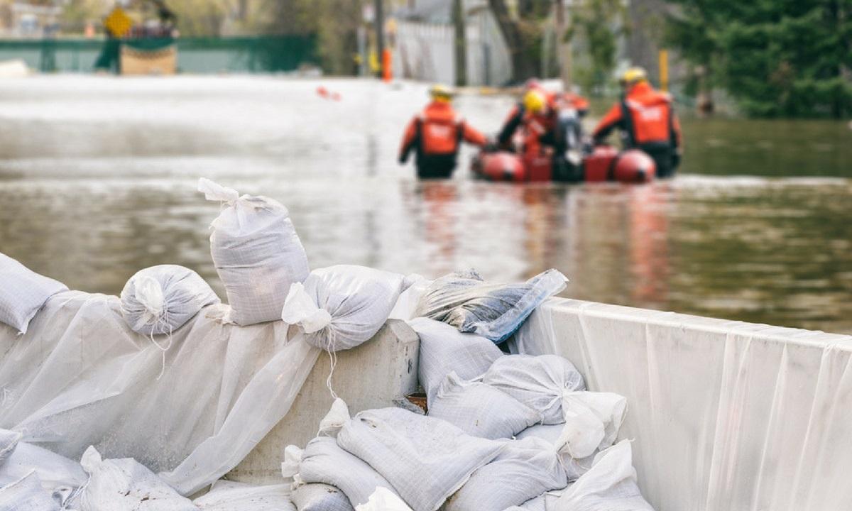 Cod galben de inundații pe râuri din Gorj și Vâlcea