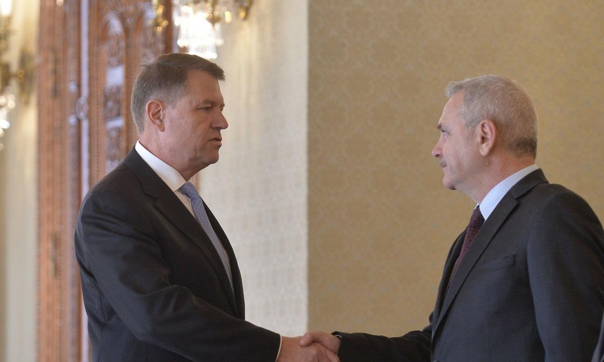 Prima reacție a lui Klaus Iohannis, după ce Liviu Dragnea a amenințat luni cu suspendarea