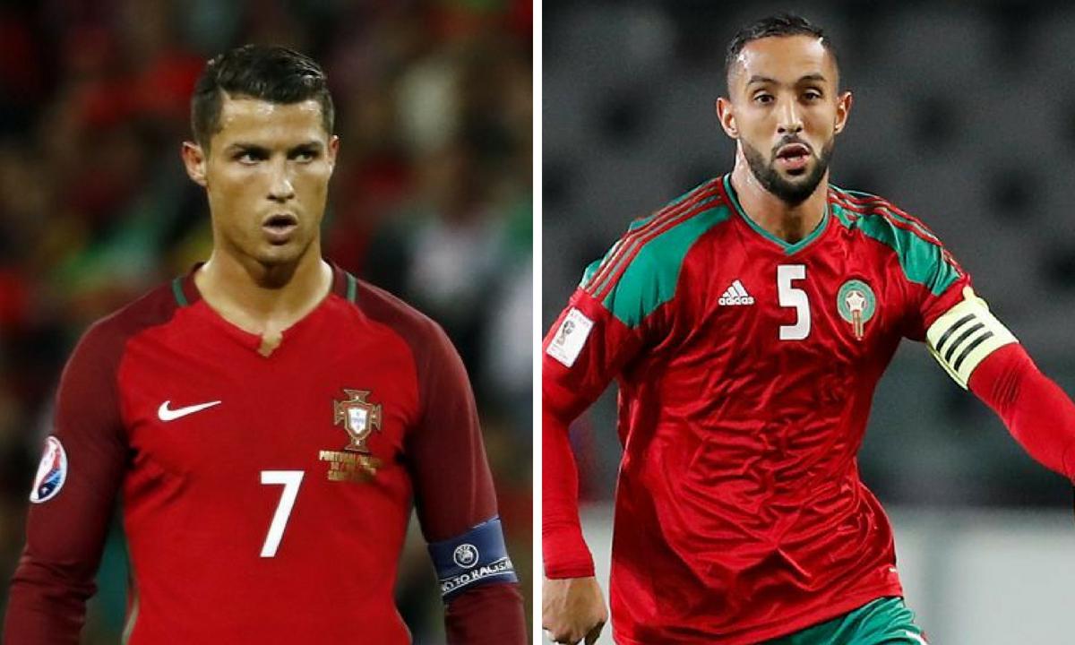 Portugalia - Maroc, scor live - Video online streaming TVR 1 - CM 2018