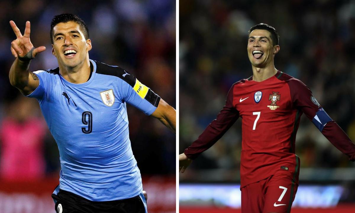 Uruguay - Portugalia scor live și rezumat video online - CM 2018
