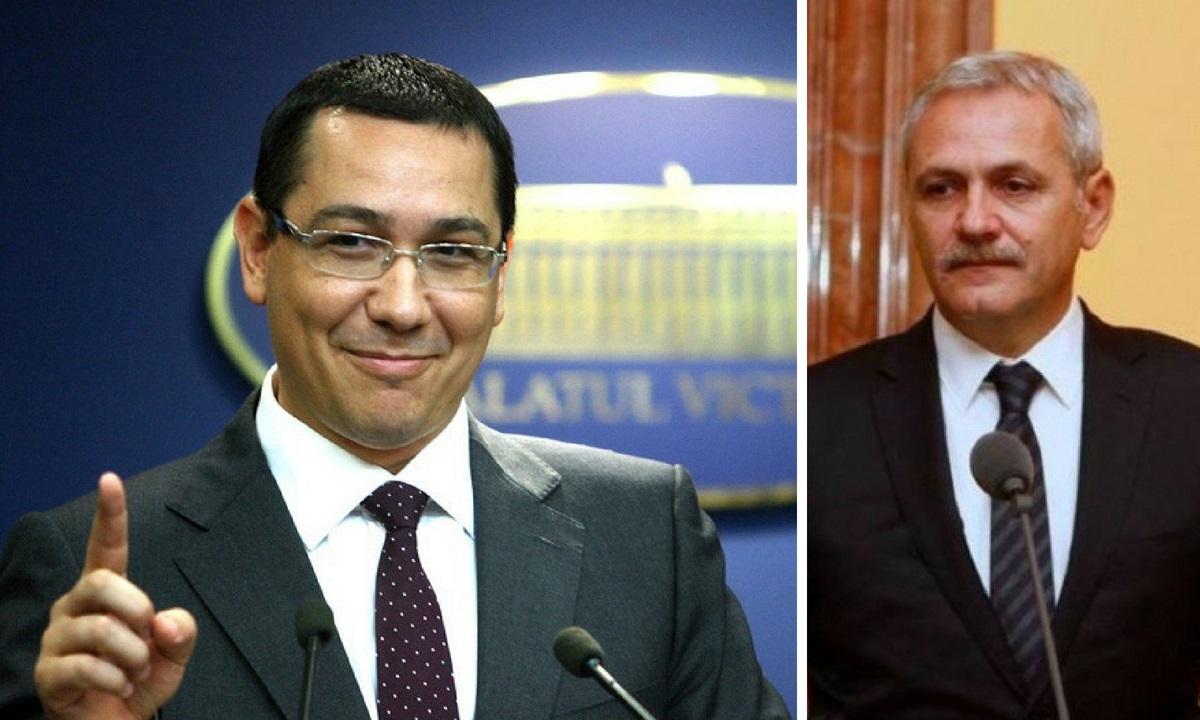 Victor Ponta, mesaj pentru Liviu Dragnea după ce acesta a fost condamnat la închisoare