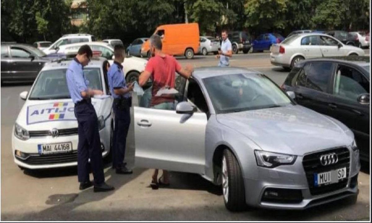 Posesorul mașinii cu număr anti-PSD a rămas fără permis