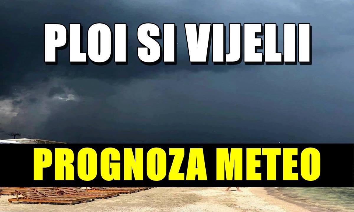METEO: Se întorc vijeliile, unde va ploua și cât vor scădea temperaturile