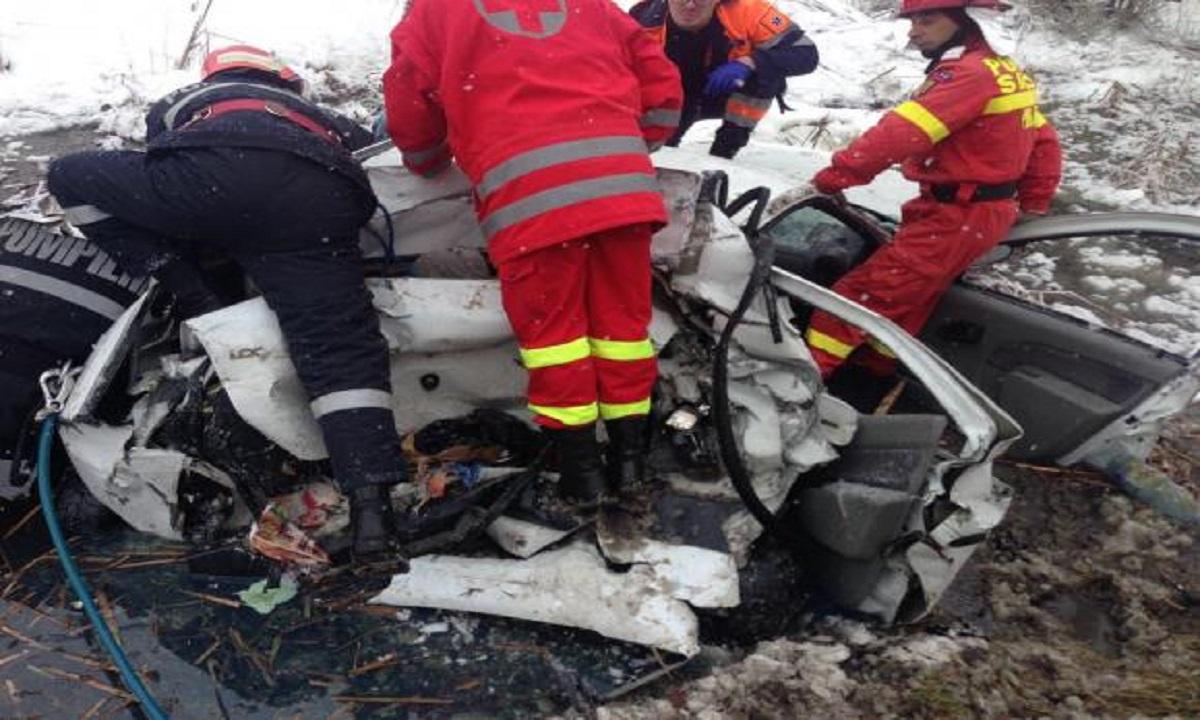 Vâlcea: Accident cu 7 victime pe DN7