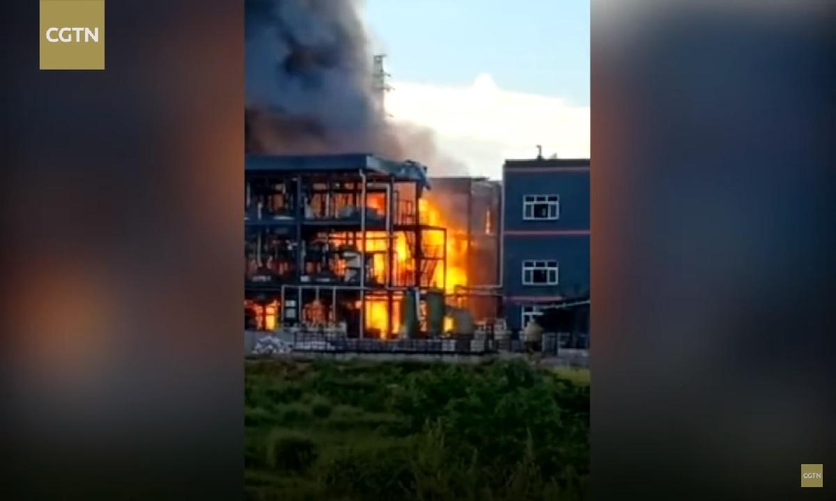 China: 19 morţi în explozia unui combinat chimic