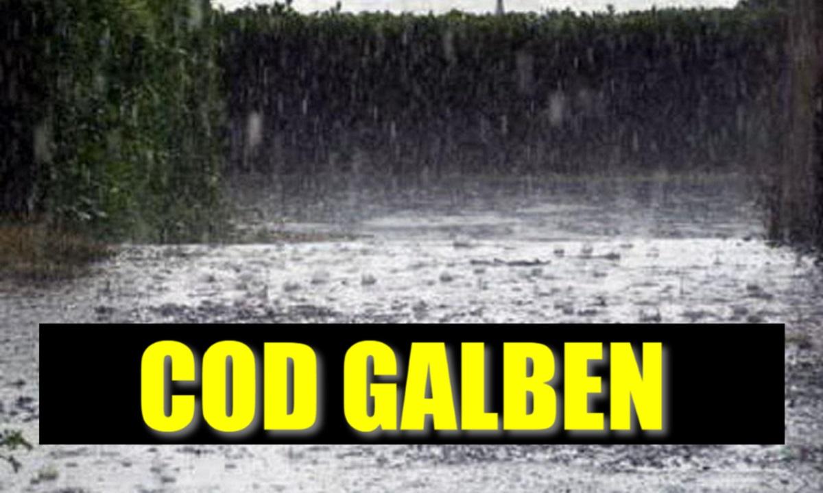 Cod galben de inundaţii pentru râuri din judeţele Mehedinţi şi Dolj, valabil până la ora 21:00